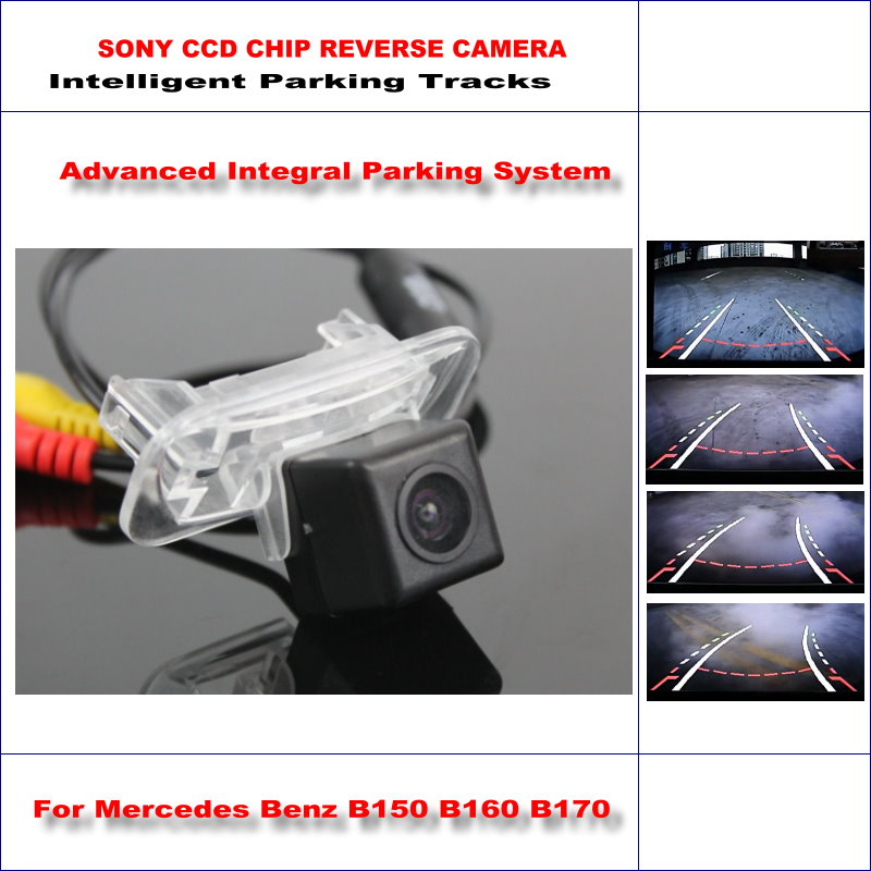 Dynamic Guidance Camera For <font><b>Mercedes</b></font> Benz <font><b>B150</b></font> B160 B170 B180 B200 / 580 TV Lines HD 860 Pixels Parking Intelligentized image