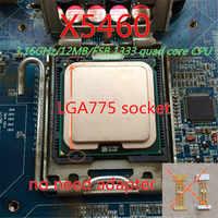 INTEL XEON X5460 CPU 3.16 GHz/12 MB/1333 Mhz Quad Core serveur processeur fonctionne sur LGA 775 carte mère ont une 5440 5450 5470 vente