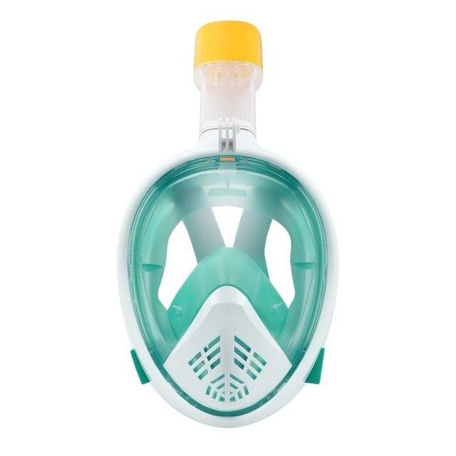 Scuba Diving Mask Full Face Snorkeling Mask Underwater Anti Fog Snorkeling Diving Mask For Swimming Spearfishing Dive Men 2
