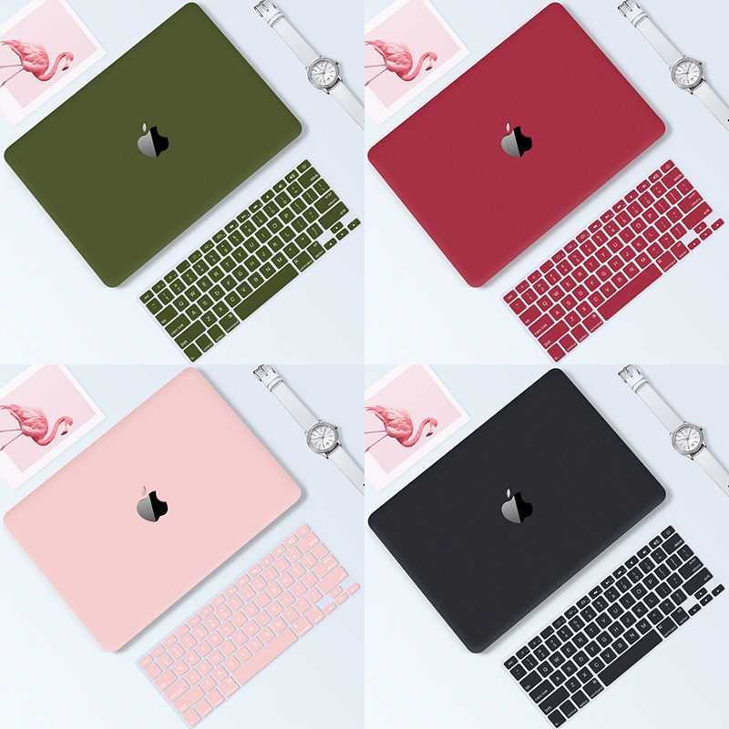 GOOJODOQ Case for Macbook Air 13 15 Case for Macbook Pro 13 15 11 12 a1708 a1278 Case Laptop 13.3 Coque for Macbook Cover Funda