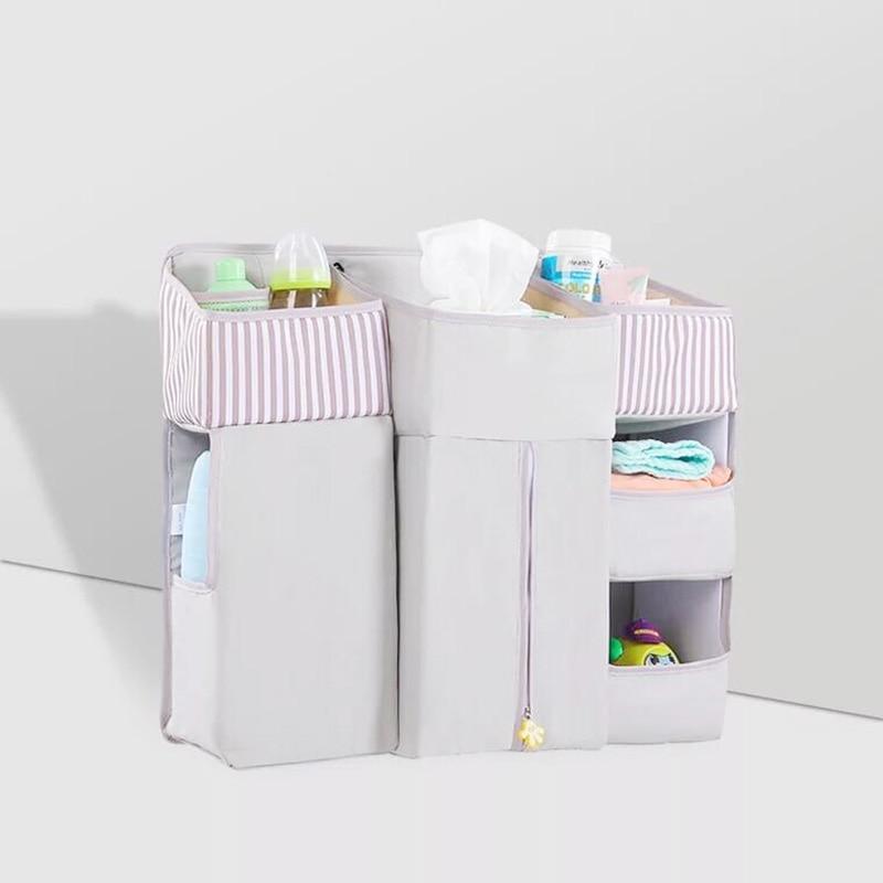 Portable Baby Crib Children s Bed Hanging Bag Waterproof Diapers Bedside Organizer Baby Diaper Storage Cradle