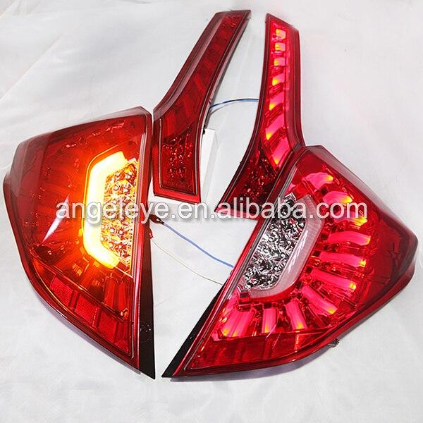 2014 год для Honda для Fit Jazz LED задний светильник красный цвет LH