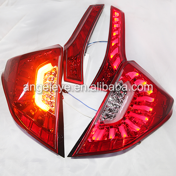 2014 year For Honda for Fit Jazz LED Rear Light Back Light Red Color LH