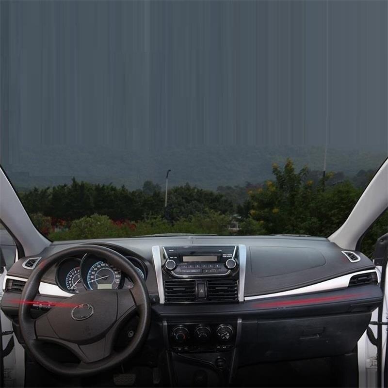 Car Dashboard Air Conditioner Interior Chromium Auto Protecter Decoration Modification 14 15 16 17 18 FOR