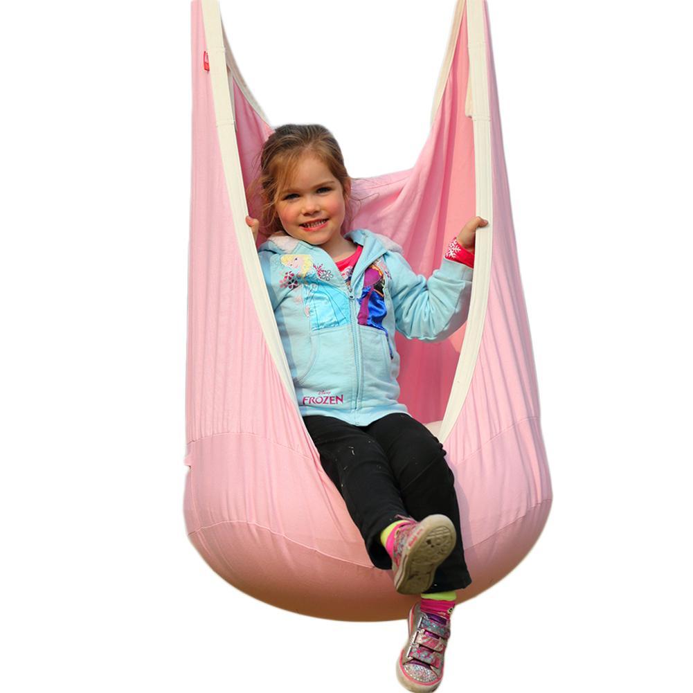 Haute qualité coton toile balançoire bébé enfants intérieur Pod balançoire hamac suspendu lit gonflable coussin tapis extérieur jardin