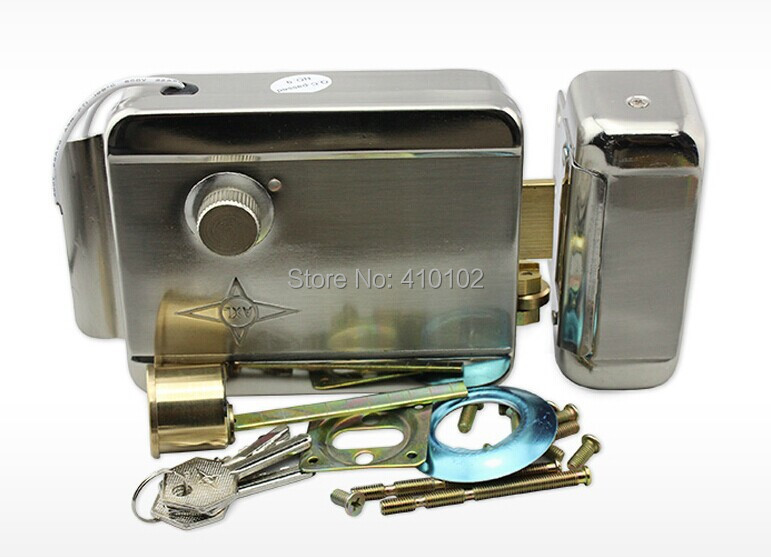 ФОТО Access Control Electric Door Lock Used for Anti-theft and Wooden Doors