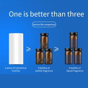 Image 3 - Baseus 金属車の香水空気清浄アロマ固体用のベント吹出口清浄エアコンクリップディフューザー