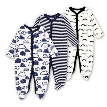 Pyjama bébé garçon fille pyjama Original coton printemps vêtements de nuit 1 pièce Pja mère nid Animal noël combinaison bébé