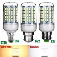 1Pc 5730 SMD 96 LED Corn Light Lamp 110V 220V Ultra Bright E27 E14 B22 Light Bulb For Home Dining Room Corridor