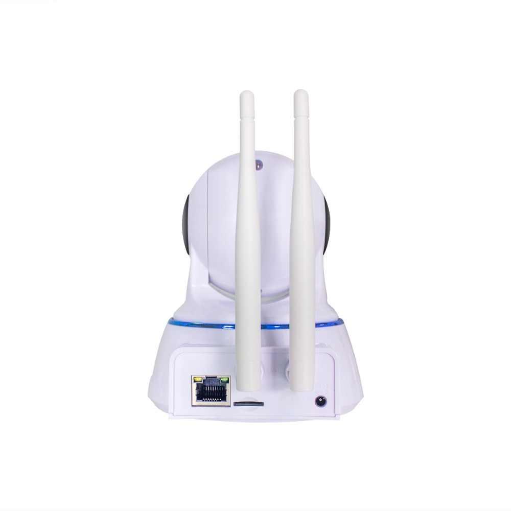 ESCAM QF002 720 P двойная антенна P2P Беспроводной WI-FI IP купольная Камера