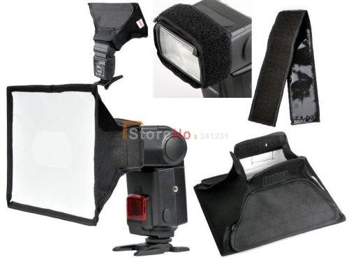 10 stücke 20x30 cm softbox blitz-diffusor für 430EX SB900 SB600 YN560II YN468 YN565EX YN460II YN568EX YN460 Speedlite Speedlight