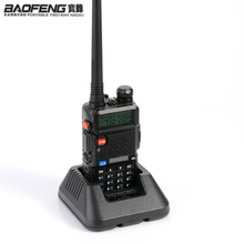 NEWEST Original Baofeng UV 5R HF transceiver UV 5R Bao Feng for UV5R Radio Portable UHF VHF Dual Band Dual Display WalkieTalkie