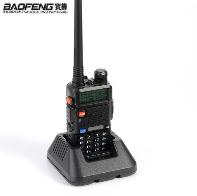 NEWEST Original Baofeng UV 5R HF transceiver UV 5R Bao Feng for UV5R Radio Portable UHF VHF Dual Band Dual Display WalkieTalkie
