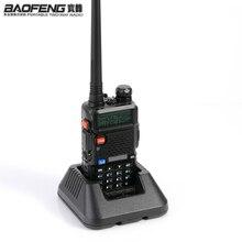 PIÙ NUOVO Originale Baofeng UV 5R HF ricetrasmettitore UV 5R Bao Feng per UV5R Radio Portatile UHF VHF Dual Band Doppio Display walkieTalkie