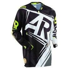 цена на Wholesale MOTO Mountain Bike  Motorcycle Long Sleeve Racing Shirt Youth Bike  DH MX ATV BMX racing Jerseys