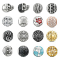 Big discount Jewelry accessories DIY Bead Jewelry ts Karma Beads fit for Pandora free shipping Piercing beads