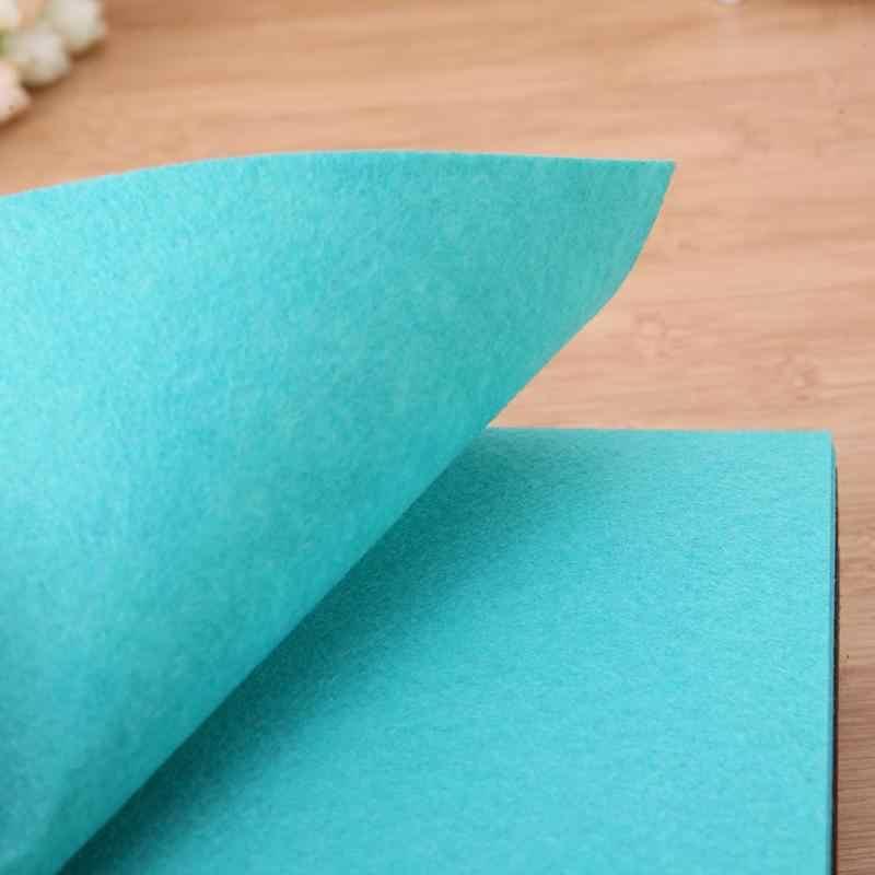 40 шт./лот Нетканая войлочная ткань красочные полиэфирные войлочная ткань DIY комплект для шитья кукол поделка рукоделие ткань 3 размера