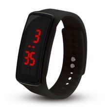 лучшая цена Children Watch Led Sports Kids Watch Men Women Silicone Electronic Digital Clock Bracelet Wristwatch For Boy And Girl Reloj Nino