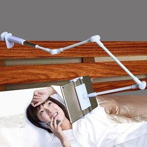 Image 3 - 아이폰 접는 긴 팔 휴대 전화 홀더 침대 스마트 폰 지원 전화 태블릿 브래킷 유연한 휴대 전화 스탠드 데스크 ipad