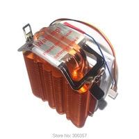 4 Pin Desktop Computer PC 2 Heatpipe Universal CPU Cooler Computer CPU Fan