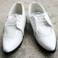 [wamami] 13# White 1/4 MSD DOD BJD Dollfie Leather Shoes ~7.0cm