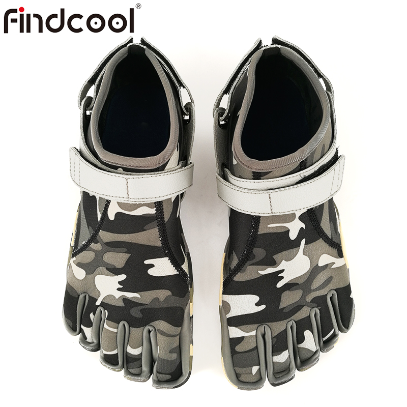 Findcool Five Fingers Shoes Men Running Sneakers for Outdoor Walking Hiking Climbing Shoe Breathable Lightweight