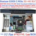 B75 Chipset Dual Core Firewall Sever with Intel Pentium G2020 2.9G 6*1000M 82583v Lan Wayos PFSense ROS
