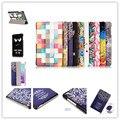 10 colores dibujo coloreado de la pu del soporte del cuero cubierta de la caja shield para huawei mediapad t2 10.0 pro fdr-a01l fdr-a01w fdr-a03l a04l