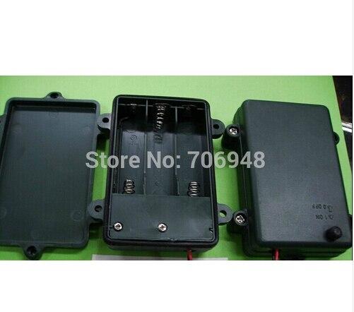 50 pcs/lot étanche aa batterie packs avec couvercle et interrupteur pour 3 AA batterie dans Boîtes À outils de Outils