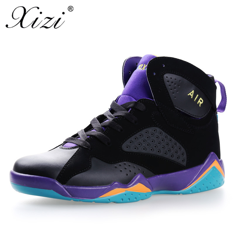 XIZI Mens Basketball Shoes Womens Lace-Up Sports Shoes Lifestyle High Top Breathable Shoes Mens Outdoor Jordan Massage Shoes ...