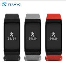 Teamyo 2017 Новый F1 Bluetooth Смарт Браслет Артериального Давления Кислорода в Крови Монитор Сердечного ритма Шагомер Умный браслет Для Подарка