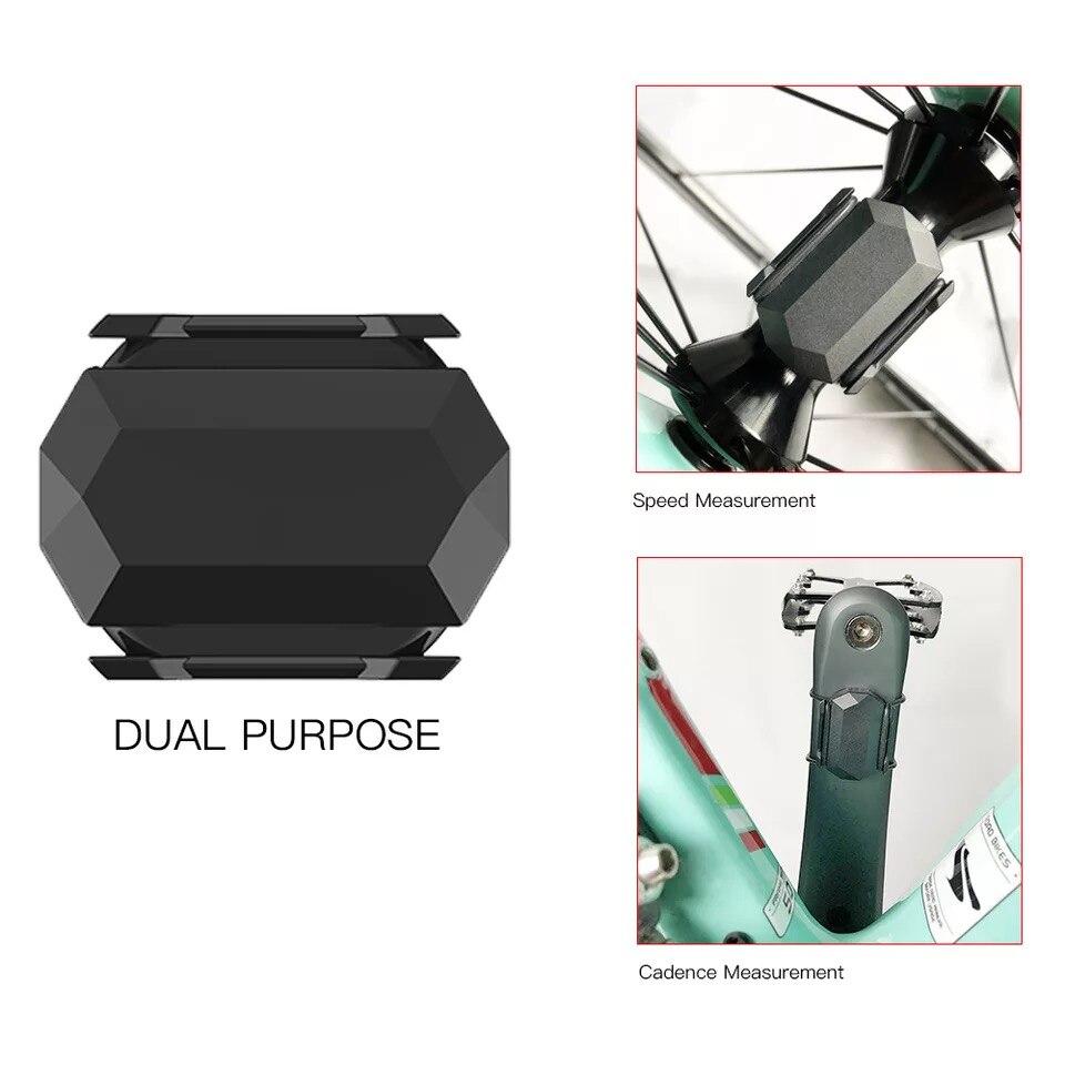 Cycplus ciclismo Sensor de cadencia de velocímetro de bicicleta ANT + Bluetooth 4,0 inalámbrico para Strava garmin bryton iGPSPORT ordenador para bicicleta|Sistemas de navegación para bicicleta|   - AliExpress