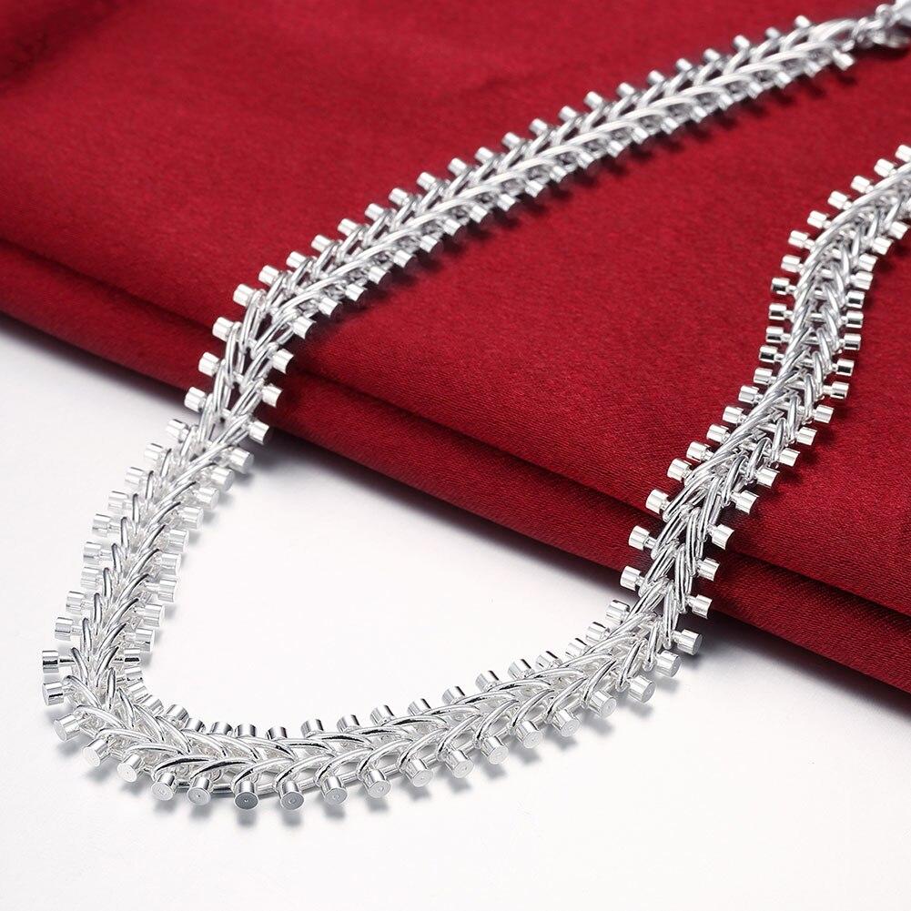 fish bond kolye neckless corrente zincir women dames men fathers day argent silver plated luxury brand argen Dahu Rico necklaces