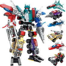 Top Sale Transformation Robot Car Action Toys Plastic Toys Action Figure Toys Best Gift For Education Children стоимость