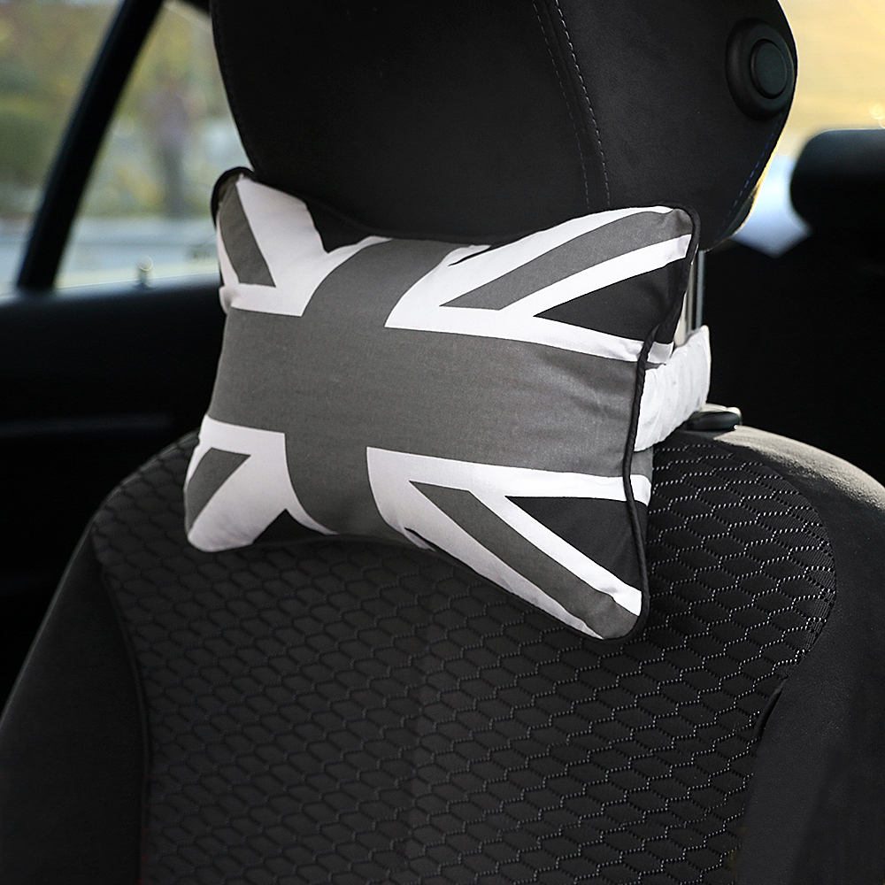 Car Neck Pillow Headrest Pillow Care For Mini Cooper Clubman Countryman R50 R53 R55 R56 R60 R61 F54 F55 F56 F60 Car Accessories