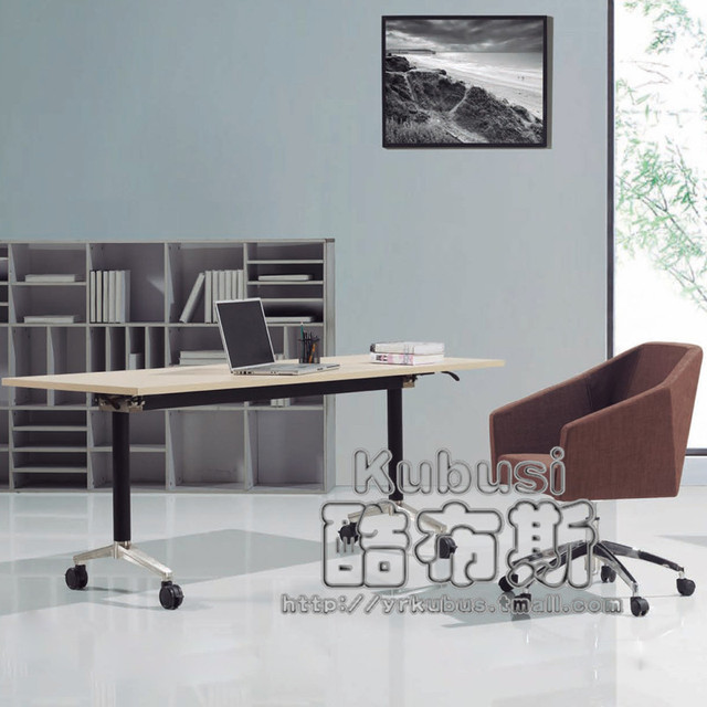 Cool Booth Folding Conference Table Study Table Training Table Long Table  Folding Table Desk Computer Desk