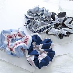 Новый 1 шт. ободок для ребенка Scrunchie для женщин обувь для девочек высокая эластичная лента бесшовные ткань волос кольцо аксессуары волос 2018