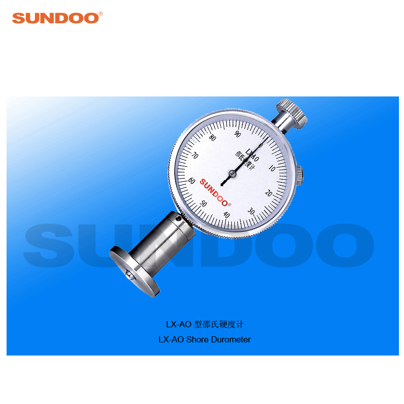 Sundoo LX-AO Portable Pointer Analog Rubber Sponge Durometer atlanta ath 830