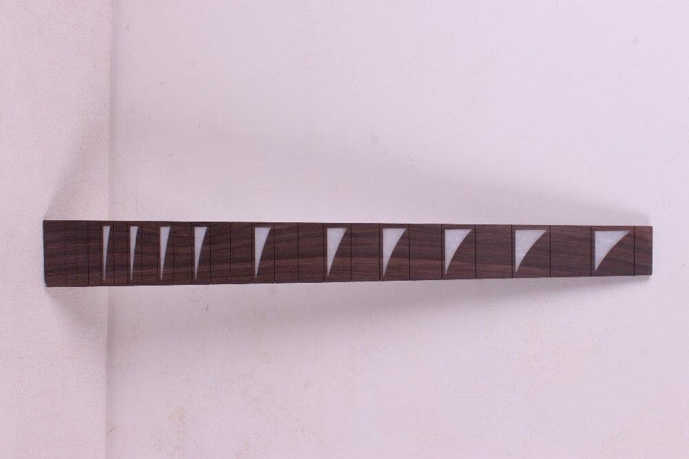 2 pcs Guitar Fretboard Fingerboard Fretless Guitar parts  rose wood #29 acoustic guitar neck fingerboard fretboard for guitar parts replacement rosewood zebrawood veneer