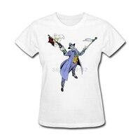 Impression Batman The Joker Caractère Dames Cadeau de t-shirt En Ligne T-Shirt Magasin Sœur Marine Tops