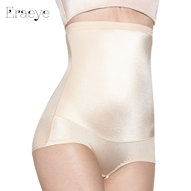 5a678b986e3 ERAEYE Women Silky Luster Siamese Corset Postpartum Thin Waist Slimming  Tummy Bodysuit High Waist Shapewear Body Shapers Corsets