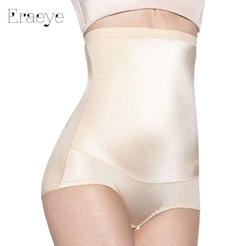 ERAEYE Women underwear Silky Luster Siamese Corset Thin waist Slimming Tummy Bodysuit High Waist Shapewear Body Shapers panties
