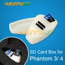 SD Card SIM Card Memory Card Storage Box Device for Phantom 3/ 4