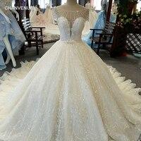 LSS038 свадебное платьеЭлегантный Кот торжественное платье с короткими рукавами и круглым вырезом на шнуровке сзади бальный наряд невесты на