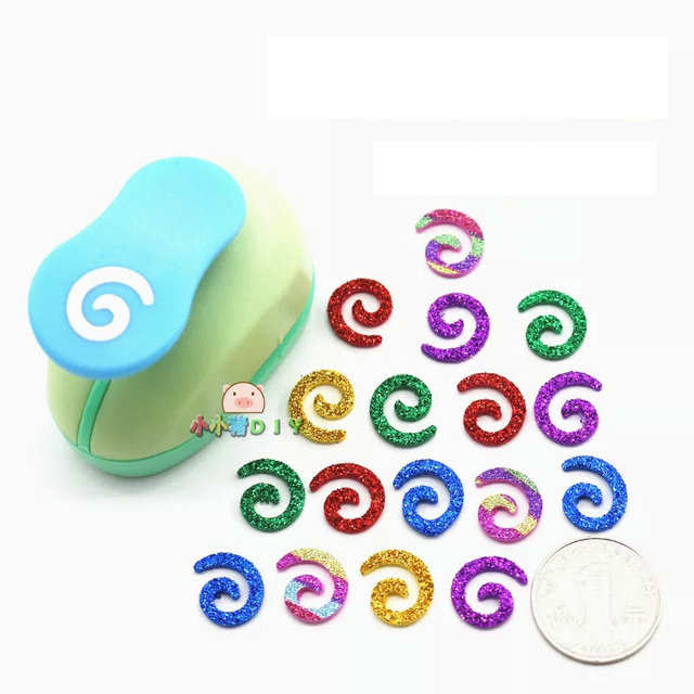 Free Shipping Paper Spiral Cutter 15mm 58 Shapes Craft Punch Diy