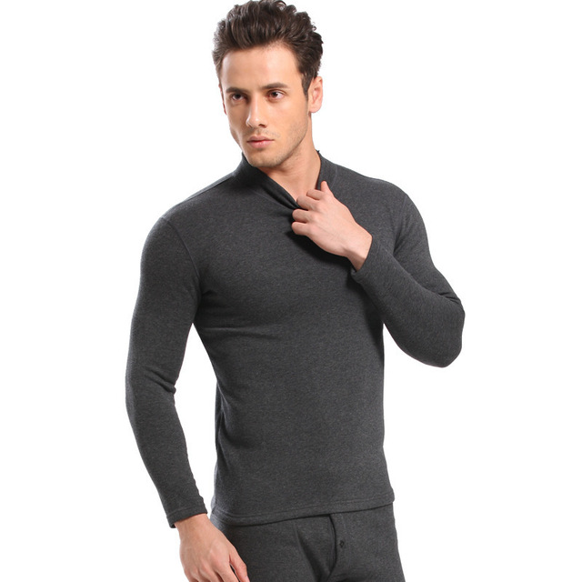 Thicken thermal underwear men's long johns men winter underwear men underwear sets sleepwear male warm plus size L-XXXL