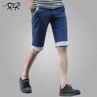 Shorts Men 2017 Summer Fashion Style Mens Shorts Casual Cotton Slim Bermuda Beach Shorts Trousers Knee