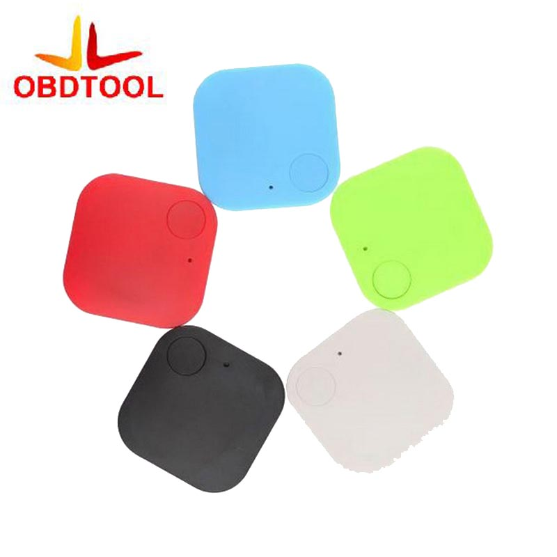 Square Wireless Bluetooth 4.0 Smart Tag Tracker GPS Locator Anti-Lost Alarm Child Pet Keys Wallet Finder 2pcs