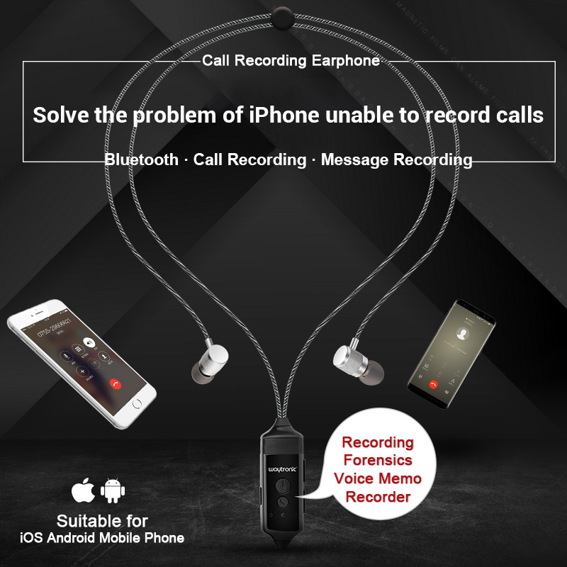 512MB Voice Call Recorder Bluetooth Earphone Headset for iPhone Android Phone Conversation Incoming Calls Message Recording512MB Voice Call Recorder Bluetooth Earphone Headset for iPhone Android Phone Conversation Incoming Calls Message Recording
