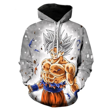 Cartoon hoodie seven dragon ball Z pocket hooded sweatshirt sleeves for men and women wearing a new hoodies Asian size s-6xl.